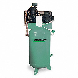 Electric Air Compressor, 2 Stage, 7-1/2 HP