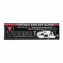 Portable Band Saw Blade, 1/2 In. W, PK 3