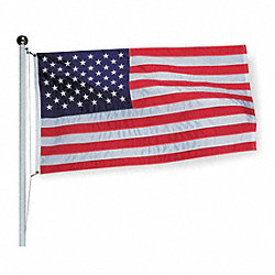 US Flag, Polyester, 3x5 Ft