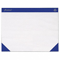 Desk Pad, 22x17, White