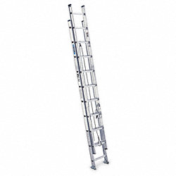 Ext Ladder, Aluminum, 20 ft., IA