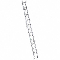 Extension Ladder, Aluminum, 40 ft., IA