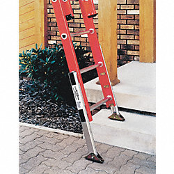 Extension Ladder Leveler Kit, Aluminum