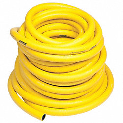 Air Hose, 3/8In ID x 500Ft, Yellow, 300PSI