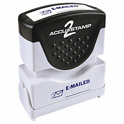 Microban Message Stamp, Emailed, 1/8