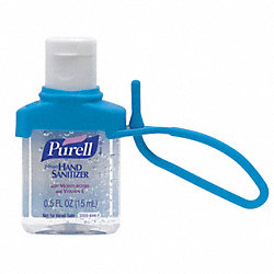 Hand Sanitizer, Size 0.5 oz., Gel, PK 250