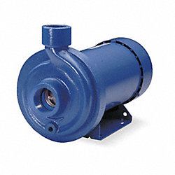 Pump, 3HP, 1PH, 115/230V, 1 1/2 X 1 1/4, TEFC