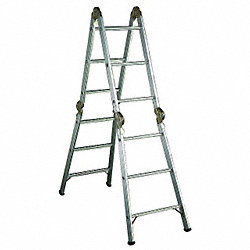 Articulating Ladder, 13 ft., IA, Aluminum