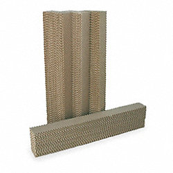 Evaporative Cooling Pad, 12x6x48 in.