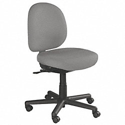 Chair, Intensive-Use, Gray, Seat 20W, Nylon