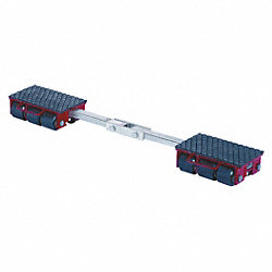 Machine Dolly, 19, 800 lb., Steel