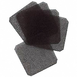 Air Filter, 30 Ppi, Fan Size 3 1/8 In, Pk5