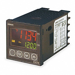 Temp Controller, Digital, 120-240V, Relay3A