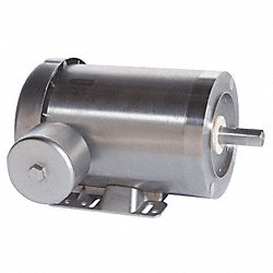 Washdown Motor, 3 Ph, TENV, 1/2 HP, 1725 rpm