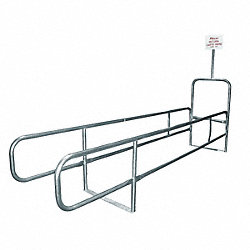 Cart Corral, Double Wide, 168 x 68