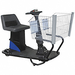 Value Shopper Handicap Cart, Blue