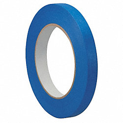 Painters Masking Tape, Blue, 1/2In x 60 Yd