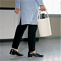 Bottle Carrier, Safety Tote, 4 1/2 In, Blk