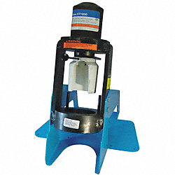 Hyd Crimping Machine, 1/4 to 1 1/4 In Cap