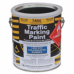 Marking Paint, Yellow, 1 gal.