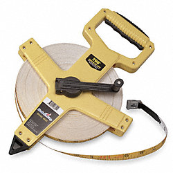Measuring Tape, Eng, 300 Ft, ABS