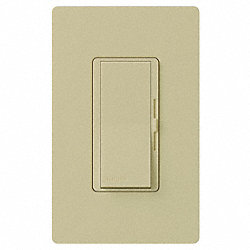 Dimmer, Paddle/Slide, 120V, 600W, 1 Pole