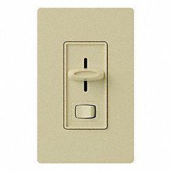 Dimmer, Slide/Rocker, 120V, 600W, 3-Way