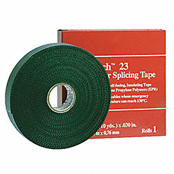 Splicing Tape, 1-1/2 x 30 ft, 30 mil, Black