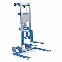 Invertible Fork Straddle Lift, 500 lb.