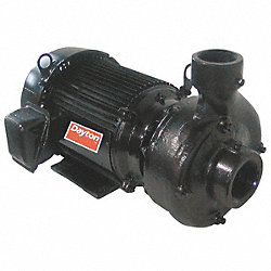 Centrifugal Pump, 2 HP, Max. Temp 180F