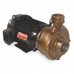 Centrifugal Pump, 5 HP, Max. Temp 180F