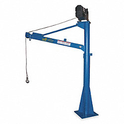 Crane, Jib, 3/4T, 12VDC, Reach 42-66In