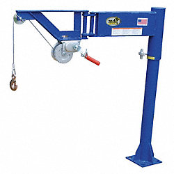 Crane, Jib, Van, 400 Lb, Manual