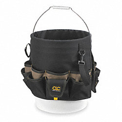 Bucket Organizer, 48 Pocket, Olive