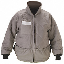 Flame-Resist Jacket Liner, Gray, 4XL, HRC 4