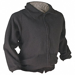 Flame-Resist Jacket Liner, Blk, 2XL, HRC 2