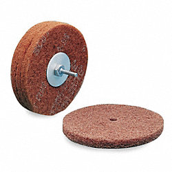 Arbor Mount Sanding Disc, 6x1/2in, VF, AlO