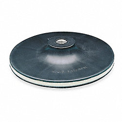 Disc Backup Pad, 7 In Dia, HL, 5/8-11INT