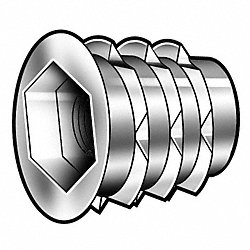 Threaded Insert, Pk 100