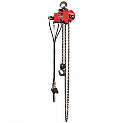 Air Chain Hoist, 1000 lb. Cap., 10 ft. Lft