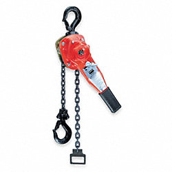 Hoist, Chain, 3/4T, 10Ft Lift, Rated 33Lb
