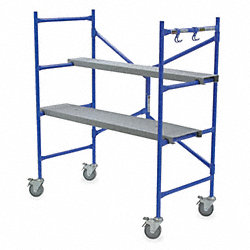 Portable Scaffold, 4 ft. H, Steel