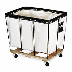 Basket Truck, 12 Bu. Cap., White, 36 In. L