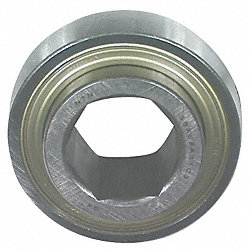 Radial Bearing, 1.125 In Bore, 2.83 In OD