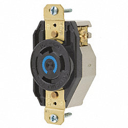 Receptacle, Single, 30 A, L6-30