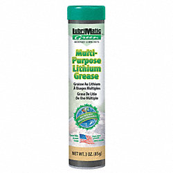 Grease, Lithium, Cartridge, 3 oz, PK3