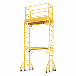 Scaffold Tower, 15 ft. H, Steel