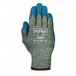 Cut Resistant Gloves, Blue, XL, PR