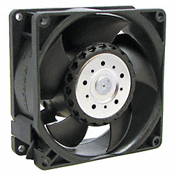 Axial Fan, 115/230VAC, 3-5/8In H, 3-5/8In W