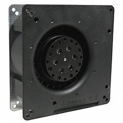 Axial Fan, 115VAC, 5-1/3In H, 5-1/3In W